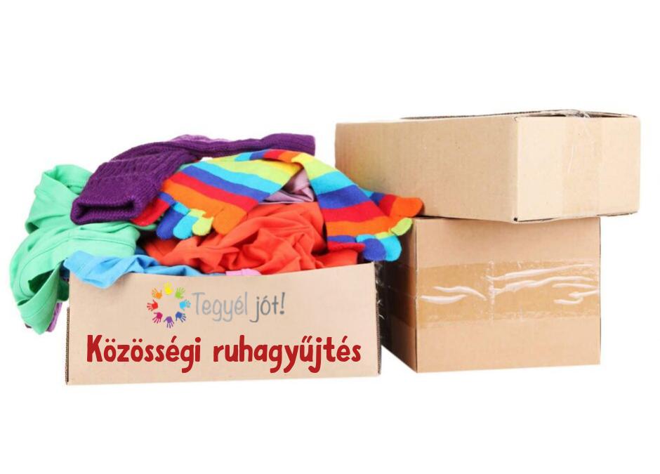 Közösségi ruhagyűjtés OKTÓBER 12-IG!
