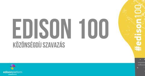 Edison 100 közönség kedvenc