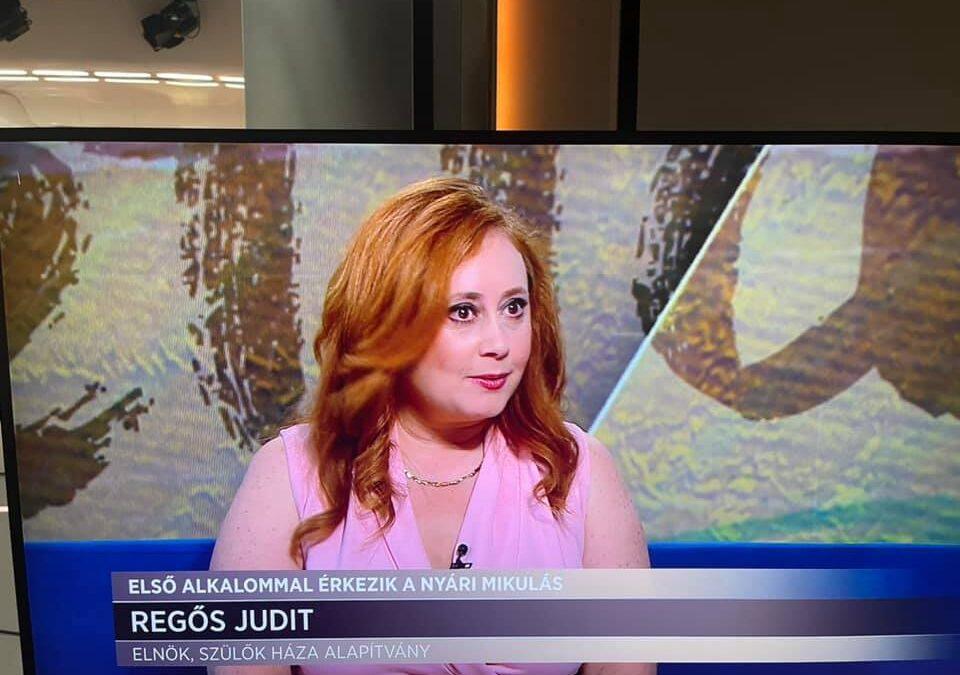 Hír TV – Érkezik a nyári Mikulás